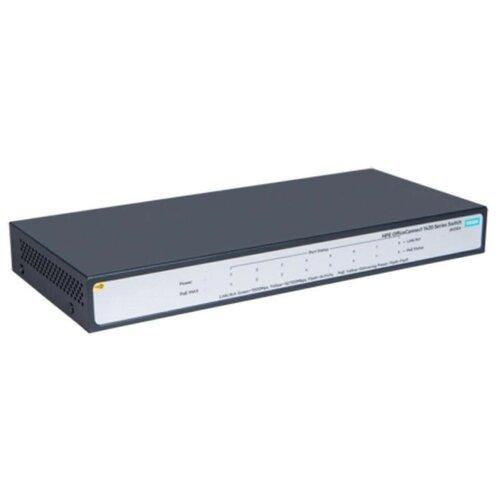 Фото - Коммутатор HP OfficeConnect 1420 PoE+ 8G Switch JH330A коммутатор hp 1420 jh330a коммутатор hp hpe 1420 8g poe 64w switch