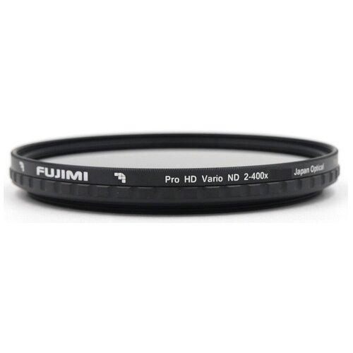 Светофильтр переменной плотности Fujimi Vari ND2-ND400 62 mm