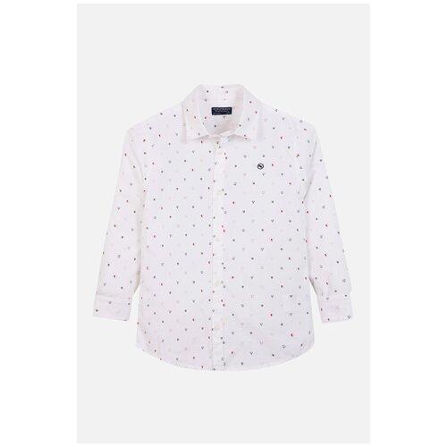 Рубашка Nukutavake размер 152, белый