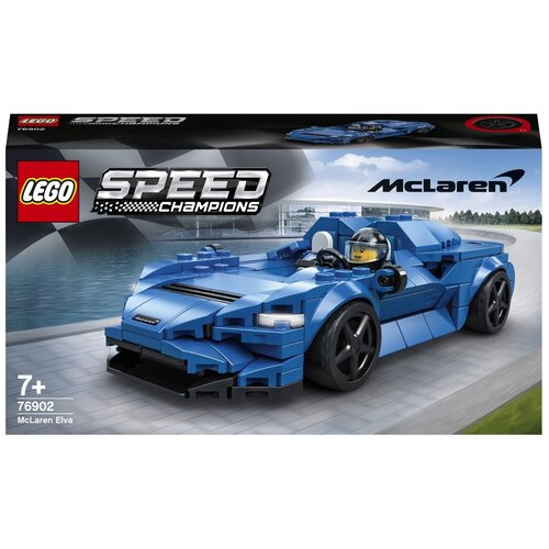 Фото - Конструктор LEGO Speed Champions 76902 McLaren Elva lego lego speed champions mopar dodge srt dragster and 1970 dodge challenger t a