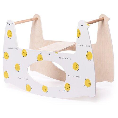 Купить 94001, Качалка детская MILLY SWING (цыпленок), Happy Baby, Колыбели и люльки