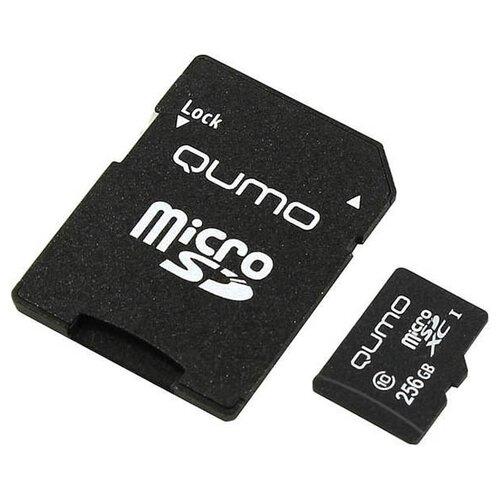 Фото - Карта памяти 256Gb - Qumo MicroSDXC UHS-I U3 Pro Seria 3.0 Q q