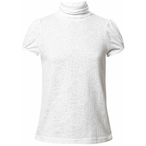 Блузка Nota Bene размер 140, белый блузка nota bene размер 122 голубой