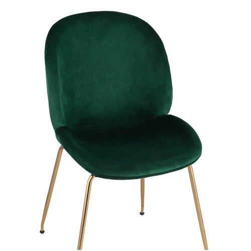 Фото - Стул STOOL GROUP Beetle, металл/текстиль, цвет: изумрудный стул stool group космос пу gadgets brown