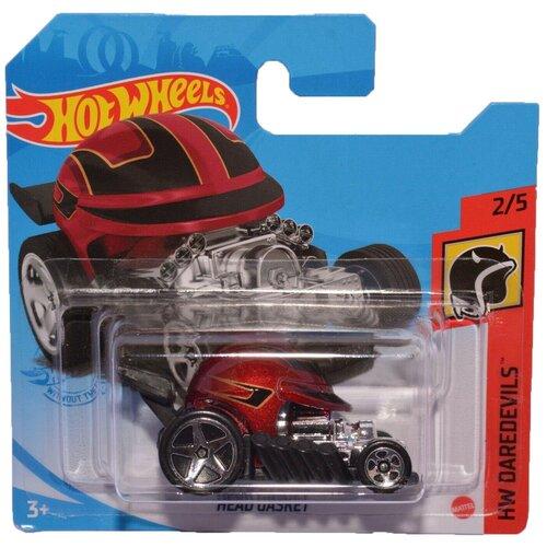 Hot Wheels Базовая машинка Head Gasket, красная mattel базовая машинка hot wheels tesla model 3