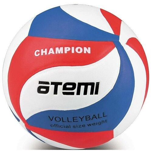 Волейбольный мяч ATEMI Champion синий/белый/красный