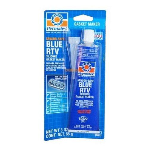 Герметик Rtv силиконовый, синий, 85г (Производитель: Permatex 80022)