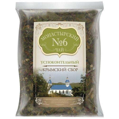 Чай травяной Крымский чай Монастырский № 6 Успокоительный, 100 г