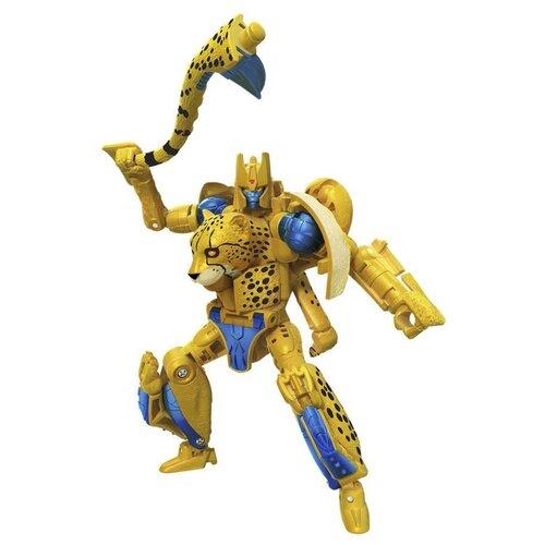 Купить Трансформер Transformers Королевство. Класс Делюкс. Читор (F0669) желтый, Роботы и трансформеры