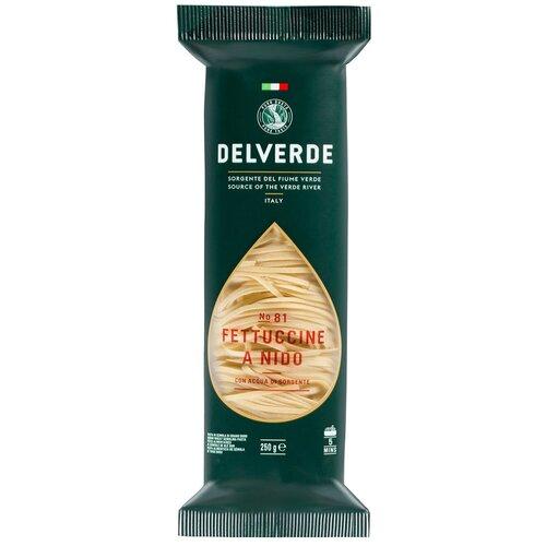 Delverde Industrie Alimentari Spa Макароны № 81 Fettuccine a Nido, 250 г