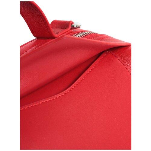 Сумка женская натуральная кожа MEYNINGER СВ9025/красный, модель сэтчел