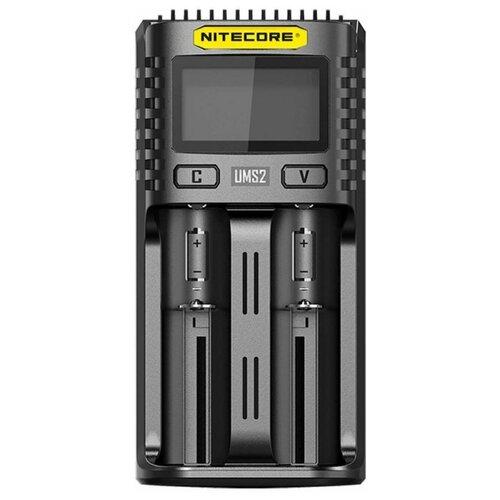Фото - Зарядное устройство Nitecore UMS2 зарядное устройство nitecore new i4 15364