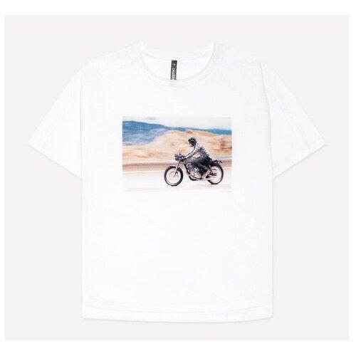 Фото - Футболка crockid, размер 122, белый футболка crockid размер 122 леденец