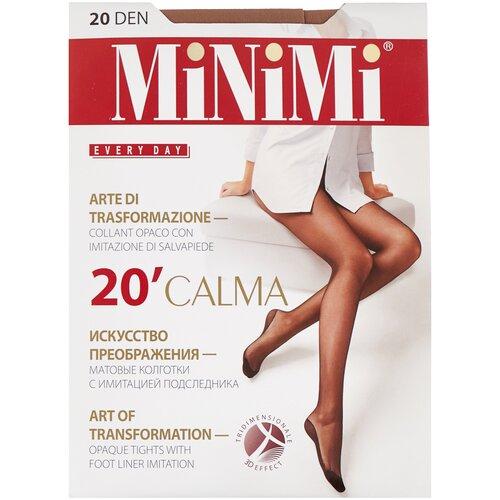 Колготки MiNiMi Calma, 20 den, размер 3-M, daino (бежевый) колготки minimi calma 20 den размер 4 l daino бежевый