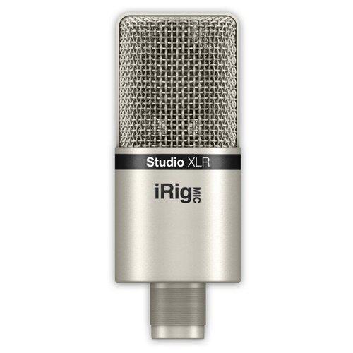 Микрофон IK Multimedia iRig Mic Studio XLR, Никелевый