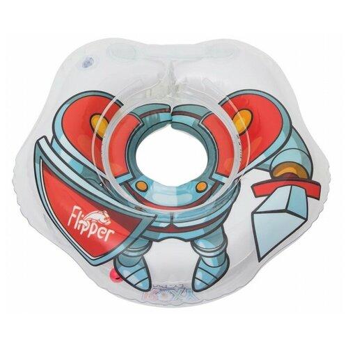 Круг на шею ROXY-KIDS для купания малышей Flipper рыцарь недорого