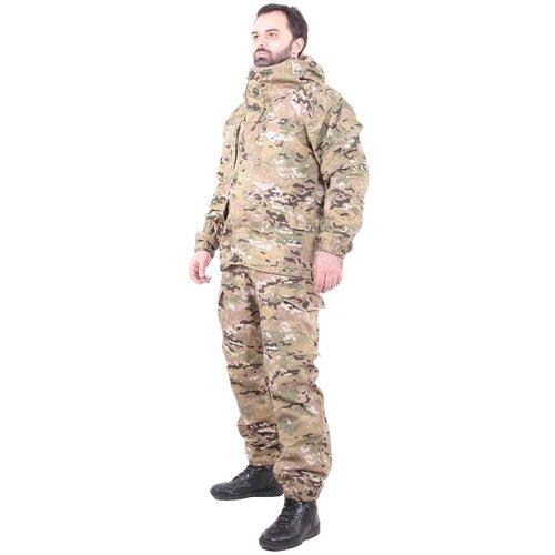 Костюм KE Tactical Горка рип-стоп на флисе multicam 182 – 188 48-50 костюм ke tactical горка мембрана на флисе multicam 170 – 176 52 54