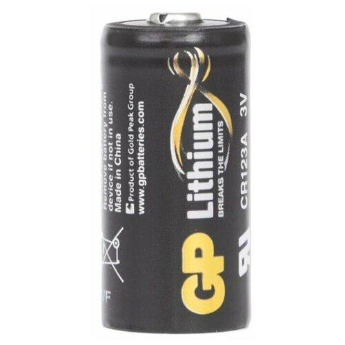 Фото - Батарейка GP Lithium CR123A, 1 шт. батарейка gp lithium cr2430 1 шт