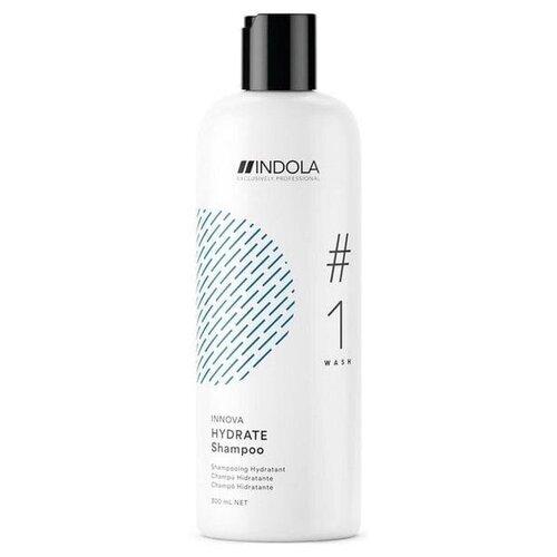 Фото - Шампунь Indola Innova Care Hydrate Shampoo Увлажняющий шампунь для норм. и чувствительных волос 300 мл. шампунь для восстановления поврежденных волос indola innova repair shampoo 300 мл