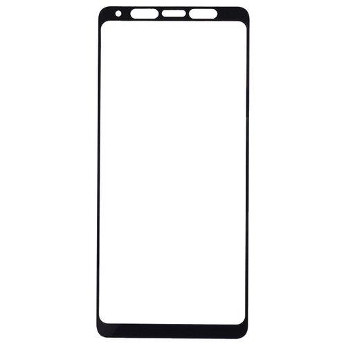 Защитное стекло Gosso FULL SCREEN для Samsung Galaxy A9 (2018) черный