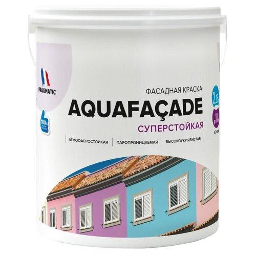Краска акриловая Pragmatic Aquafaçade 5100BR91 влагостойкая моющаяся матовая 191 2.25 л