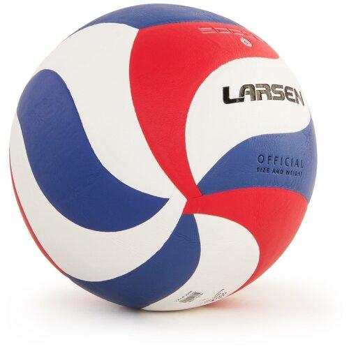 Волейбольный мяч Larsen 5000B белый/красный/синий