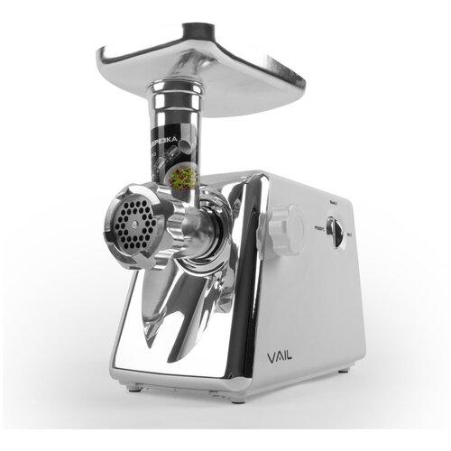 Мясорубка электрическая VAIL VL-5404 белая 1800 Вт. с соковыжималкой