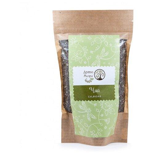 Фото - Семена чиа Древо Жизни, бумажный пакет, 200 г древо жизни каша из белого льна с тыквой и изюмом пакет