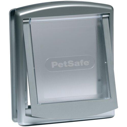Дверца в дверь для животных PetSafe Staywell Original 2-Way 19.8х23.6 см серый металлик