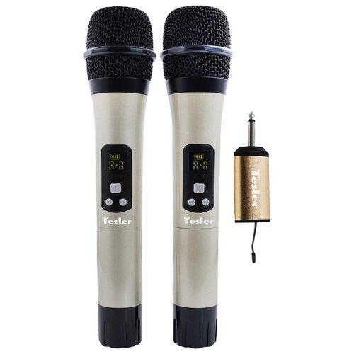 Система беспроводных микрофонов TESLER WMS-720