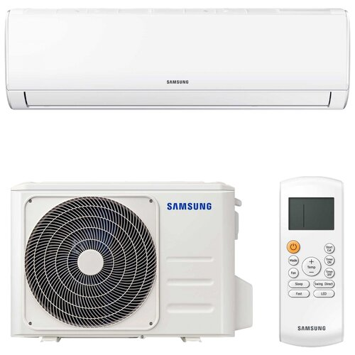 Настенная сплит-система Samsung AR09TQHQAURNER/AR09TQHQAURXER белый