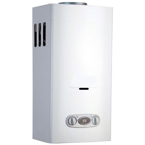 Фото - Проточный газовый водонагреватель Vilterm S13, белый проточный газовый водонагреватель bosch wrd 13 2g23