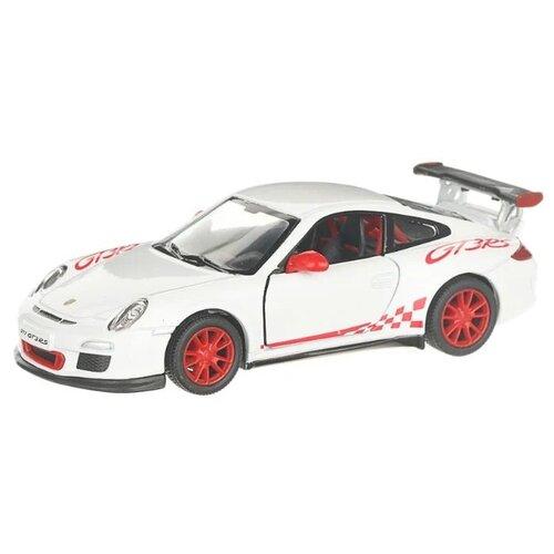 Купить Гоночная машина Serinity Toys 2010 Porsche 911 GT3 RS (5352DKT) 1:36, 12.5 см, белый, Машинки и техника