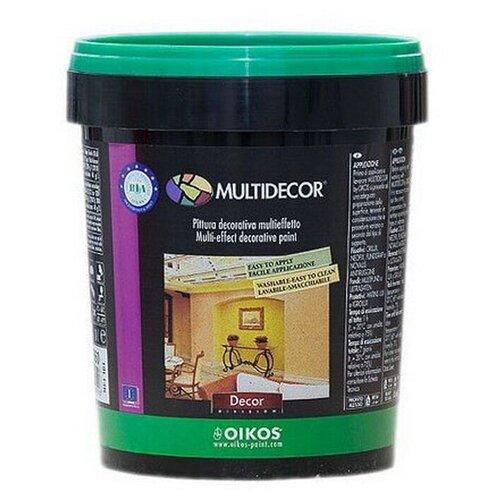 Краска акриловая Oikos Multidecor перламутровая моющаяся ES840 1 л