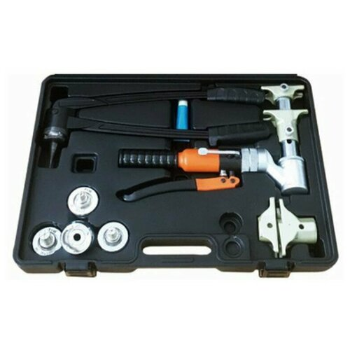 Комплект гидравлического инструмента для труб PEX и аксиаьных фитингов FT1240B-QC