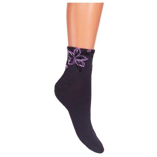 Носки женские Гамма С551, Тёмно-серый, 25-27 (размер обуви 40-41)