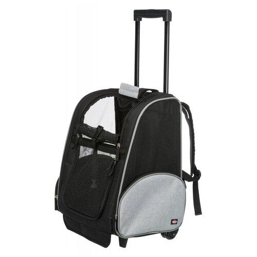 Транспортная сумка-рюкзак на колесиках