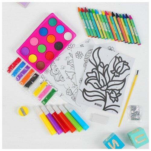 Купить Набор для рисования Школа талантов Прекрасная принцесса , в пакете, Наборы для рисования