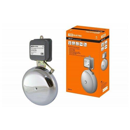 Звонок громкого боя МЗ-2Т-150мм 78дБ 220В TDM, цена за 1 шт