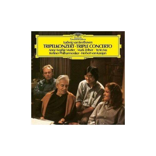 yo yo ma yo yo ma six evolutions bach cello suites 3 lp Виниловые пластинки, Deutsche Grammophon, ANNE-SOPHIE MUTTER; YO-YO MA - Beethoven: Triple Concerto (LP)