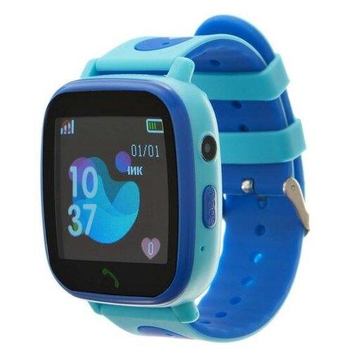 Смарт-часы Prolike PLSW11BL, детские, цветной дисплей 1.44