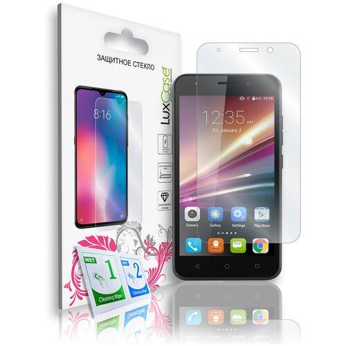 Защитное стекло для Vertex Impress Luck / Luck NFC / на Вертекс Импресс Лак / Лак НФси На плоскую часть экрана 0,33 мм смартфон vertex impress luck nfc lte black