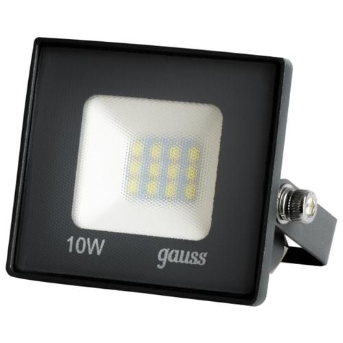 Прожектор светодиодный уличный SMD Gauss Basic 10 Вт 6500К IP65