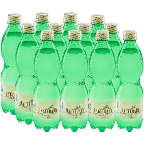 Фото - Вода минеральная природная питьевая лечебно-столовая газированная Набеглави 0,5 л. ПЭТ (упаковка 12 шт) вода минеральная rudolfuv pramen природная лечебно столовая газированная пэт 12 шт по 0 5 л