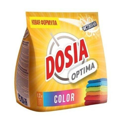 DOSIA Порошок для стирки Dosia Optima Color 1,2 кг недорого