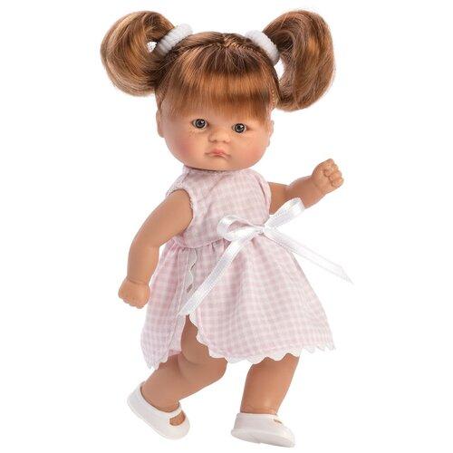 Asi ASI Виниловая кукла Аси (ASI) Пупсик (20 см) - в платье с косичками