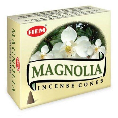 Благовония конусы Магнолия ХЕМ (HEM Magnolia)