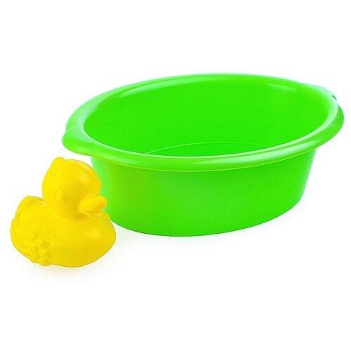 Набор для купания (тазик, уточка) в сетке