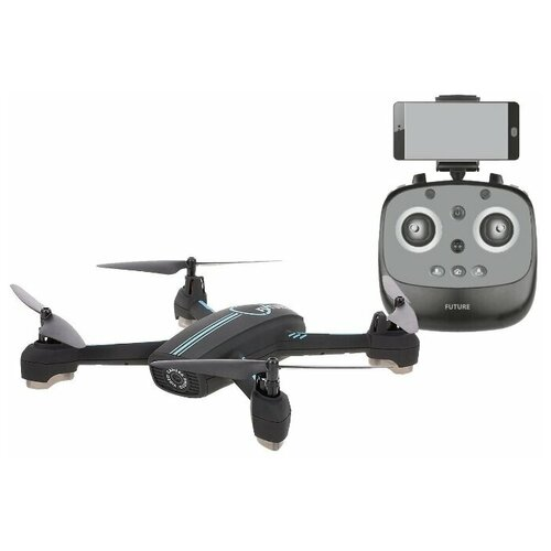 Квадрокоптер - JXD-528-Pro Tracker GPS с пультом (Камера 720p, передача видео по WiFi, 200м)