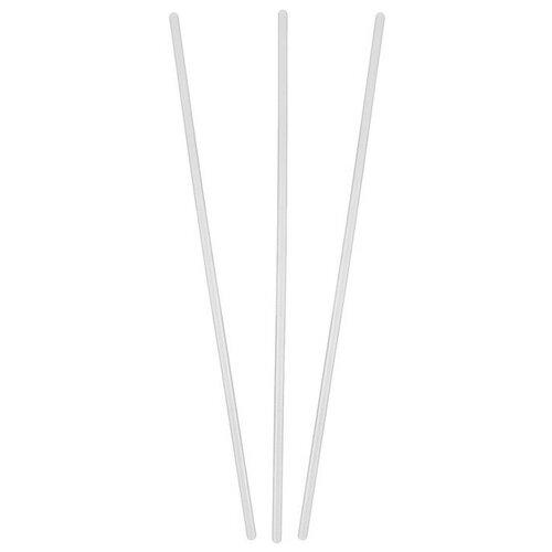 Трубочка для шаров, флагштоков и сахарной ваты, 50 см, d=10 мм, цвет прозрачный (50 шт)
